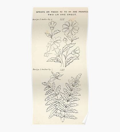 Briggs & Company Patent Transferring Papers Kate Greenaway 1886 0102 Poster