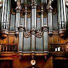 Historic organ by Alexander Meysztowicz-Howen