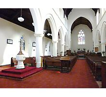 Holy Trinity Anglican Church - Williamstown Photographic Print