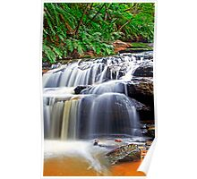 Cascades, Leura, Blue Mountains Poster