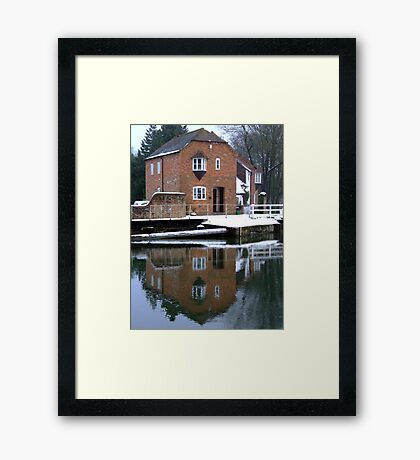 Reflections - Kennet and Avon Canal Framed Print