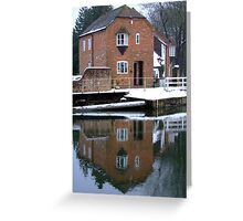 Reflections - Kennet and Avon Canal Greeting Card
