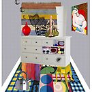 Pablo worked for IKEA for 3 weeks in his youth (or The birth of cubism) by VenusOak
