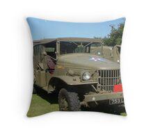 generals transport Throw Pillow