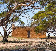 Early Settlers Cottage in South Australia by Sherrill Meredith