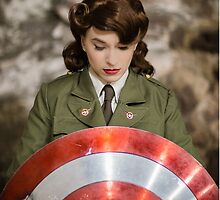 Tanya Wheelock as Peggy Carter (13.1 - Photography by Steven Sze) by mostdecentthing