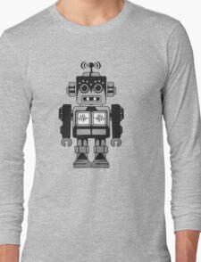 Retro Robot Long Sleeve T-Shirt