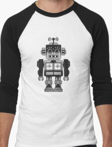Retro Robot Men's Baseball ¾ T-Shirt