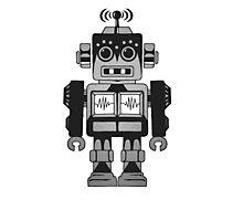 Retro Robot Photographic Print
