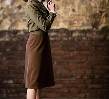 Tanya Wheelock as Peggy Carter (12.1 - Photography by Steven Sze) by mostdecentthing