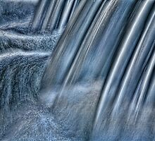 Waterfall Abstract by ezindo