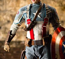 Michael Mulligan as Captain America (14.1 - Photography by Steven Sze) by mostdecentthing