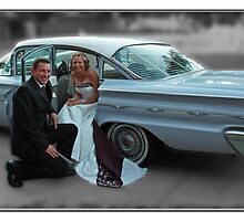 '59 Pontiac Star Chief, The Wedding Car by PhotoButterfly