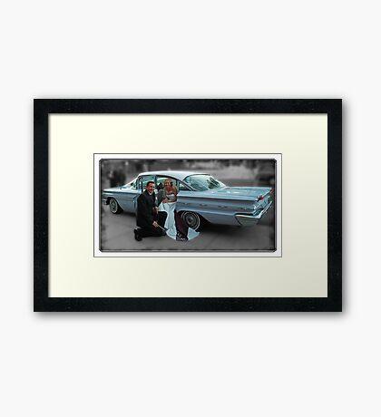 '59 Pontiac Star Chief, The Wedding Car Framed Print