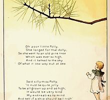 The Glad Year Round for Boys and Girls by Almira George Plympton and Kate Greenaway 1882 0012 Poor Little Polly by wetdryvac