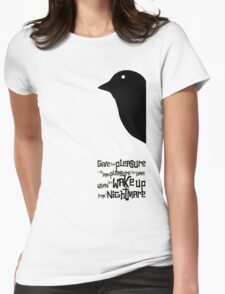 Hitchcock Womens Fitted T-Shirt