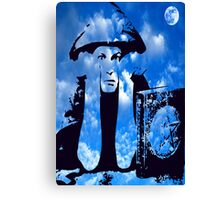 MAGIC IN THE CLOUDS with Aleister Crowley Canvas Print