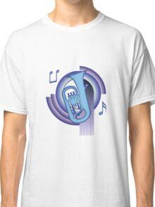 Deco Euphonium (Cool Colors) Classic T-Shirt