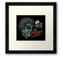 The First Framed Print