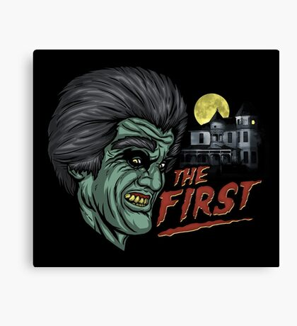 The First Canvas Print