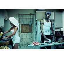 Snoop Dogg Poster Ironing Money Photographic Print
