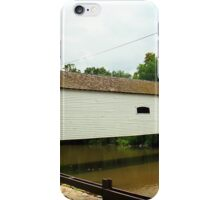 Elizabethton, TN, Covered Bridge, 2008 iPhone Case/Skin