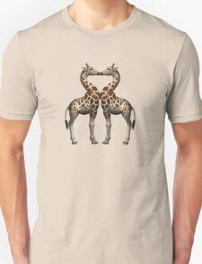 Giraffes In Love Unisex T-Shirt