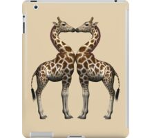 Giraffes In Love iPad Case/Skin