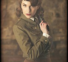 Tanya Wheelock as Peggy Carter (10.1 - Photography by Sean William / Dragon Ink Photography) by mostdecentthing