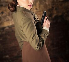 Tanya Wheelock as Peggy Carter (9.1 - Photography by Sean William / Dragon Ink Photography) by mostdecentthing