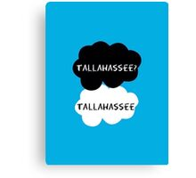 Tallahassee? Tallahassee. (OUAT / TFIOS) Canvas Print