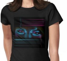 Her Lying Eyes Womens Fitted T-Shirt