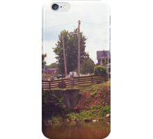 Elizabethton, TN, Covered Bridge and Mansion, 2008 iPhone Case/Skin