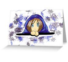 Adorable Chibi Dungeon Master  Greeting Card