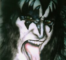 Gene Simmons by Kathleen Kelly-Thompson