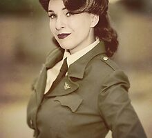 Tanya Wheelock as Peggy Carter (1.2 - Photography by David Skirmont, with Additional Editing by Tascha Dearing) by mostdecentthing