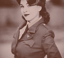 Tanya Wheelock as Peggy Carter (1.3 - Photography by David Skirmont, with Additional Editing by Tascha Dearing) by mostdecentthing