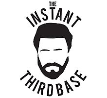 The Instant Third Base Photographic Print