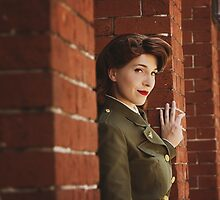 Tanya Wheelock as Peggy Carter (2.1 - Photography by Markus Zimmerman, with Additional Editing by Tascha Dearing) by mostdecentthing