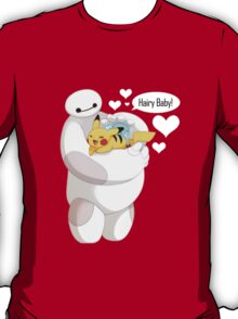 Baymax And Pokemon Hairy Baby sweety T-Shirt