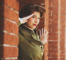 Tanya Wheelock as Peggy Carter (3.1 - Photography by Markus Zimmerman, with Additional Editing by Tascha Dearing) by mostdecentthing