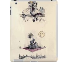 The Little Folks Painting book by George Weatherly and Kate Greenaway 0101 iPad Case/Skin