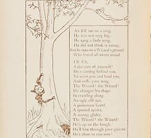 Rhymes for the Young Folk William and Hellen Allingham art Kate Greenaway 0018 The Elf Singing by wetdryvac