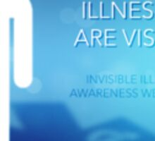 Invisible Illnesses Sticker