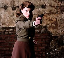 Tanya Wheelock as Peggy Carter (4.1 - Photography by Misty Autumn Imagery) by mostdecentthing