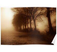I dream of foggy mornings Poster