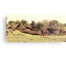 A Village in india. Metal Print