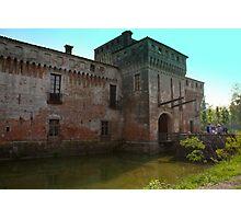 Padernello Castle Photographic Print
