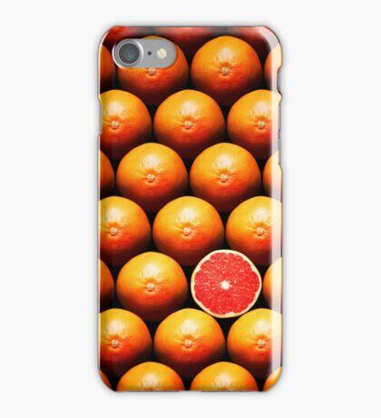 Grapefruit slice between group iPhone Case/Skin