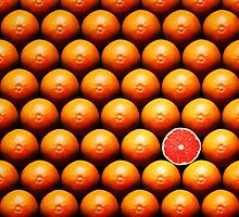 Grapefruit slice between group by Johan Swanepoel